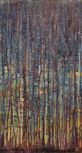 Acrylic and granular gel on canvas- Sold